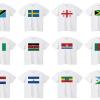 世界の国旗(Tシャツ)販売